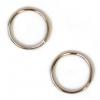 Jump Ring Round 10mm OD 19gauge Nickel Soldered